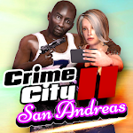 San Andreas Crime City II Icon