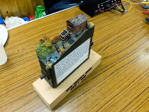 """Photo: 023 New Haycock Wood Drift Mine, a hand powered 009 """"layout"""" by Danny Figg ."""