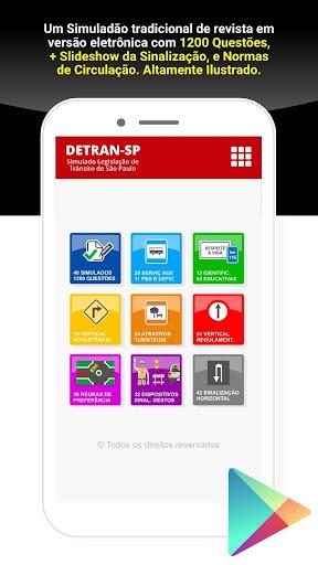 Simulado Detran São Paulo - SP screenshot 1