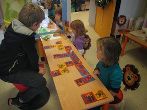 Photo: spelletjes spelen met meters en peters