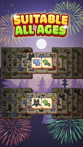 Tile Match Animal - Classic Triple Matching Puzzle apkpoly screenshots 3