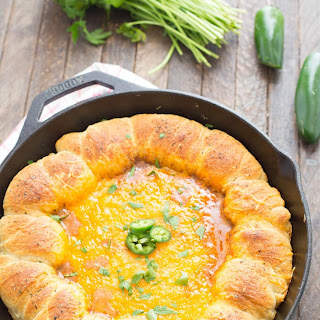 Skillet Chili Cheese Dip.