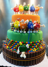Photo: m&m cake