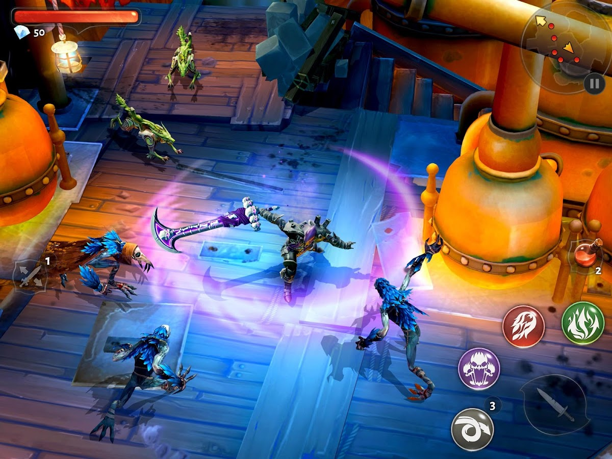 Dungeon Hunter 5 – Action RPG- screenshot