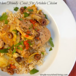 Chicken Artichoke Crock Pot Recipes.