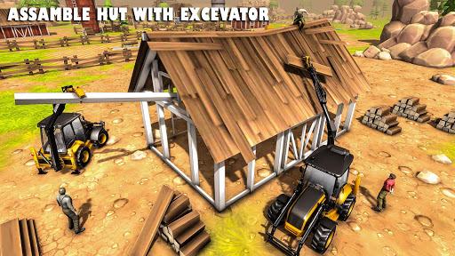 Heavy Excavator Crane Sim 2020: 3D Crane Game 1.0.8 screenshots 3