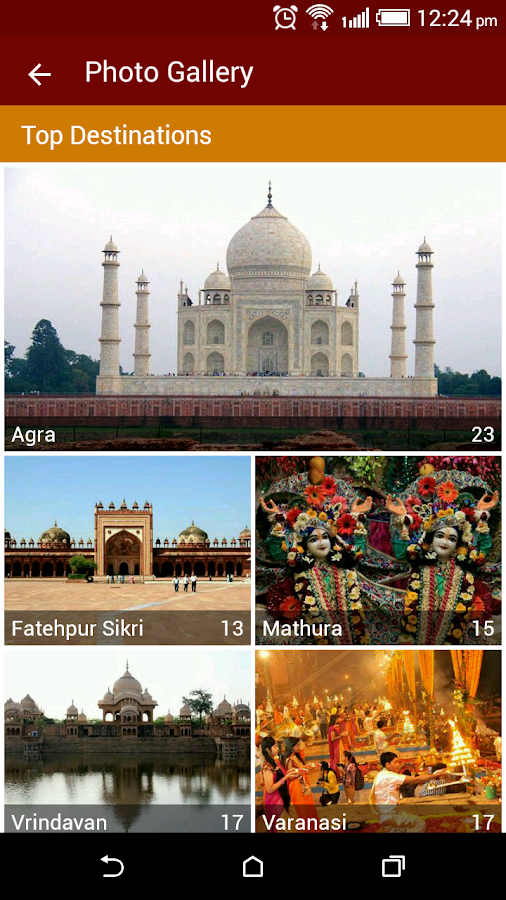 Uttar Pradesh Tourism- screenshot