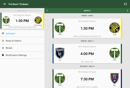 MLS Soccer- screenshot thumbnail