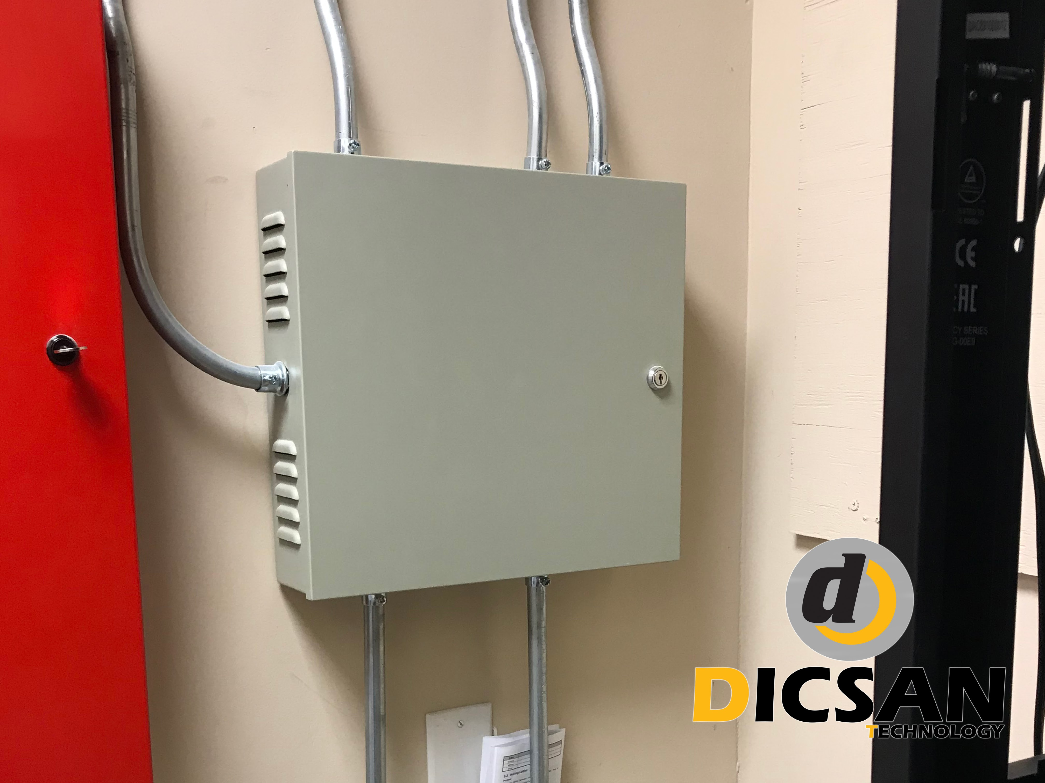 Access Control Installation at Medical Center