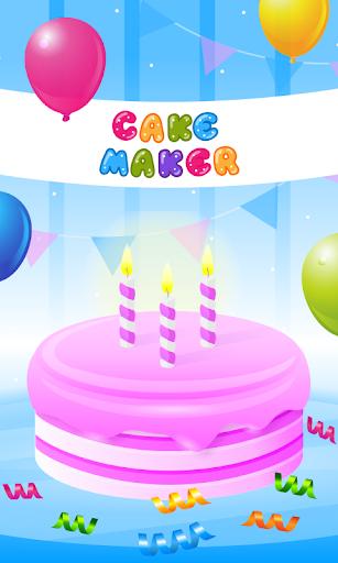 Cake Maker Kids - Cooking Game  screenshots 1