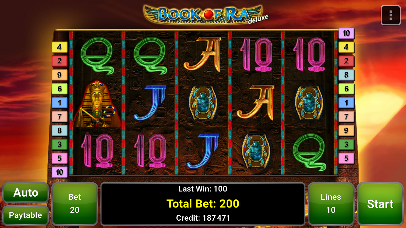 book of ra slot app