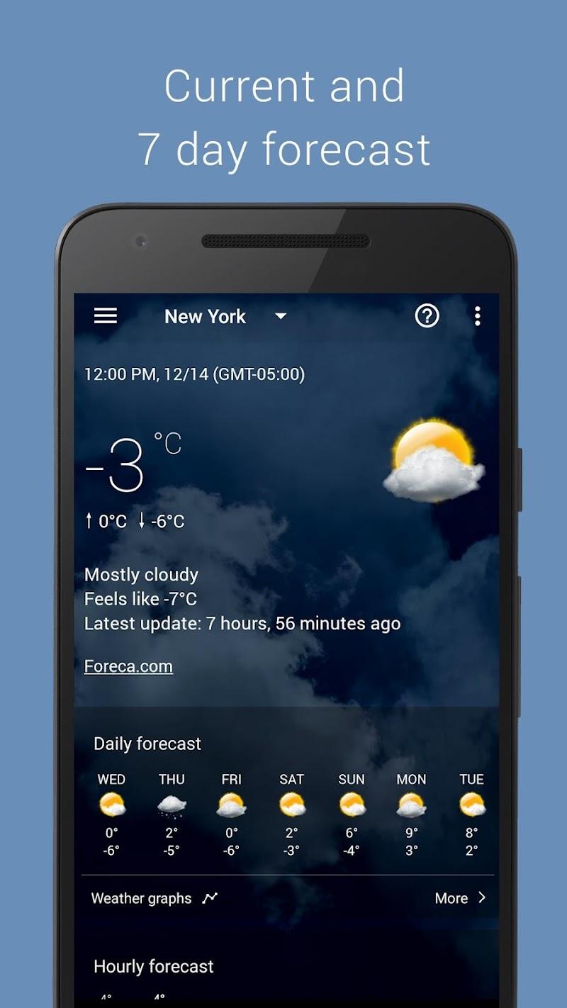 Transparent clock weather Pro Screenshot 1
