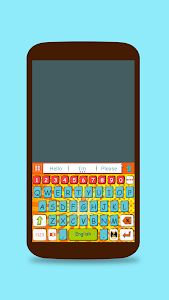 ai.keyboard Comic Book theme screenshot 0