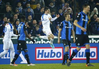 Un penalty à la dernière minute offre sans doute les trois points à Bruges
