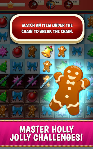 Christmas Crush Holiday Swapper Candy Match 3 Game 1.35 screenshots 4