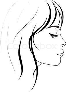 """Képtalálat a következőre: """"szép nő rajz"""""""