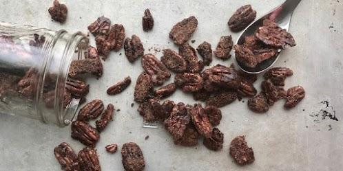 Candied Pecan Bites