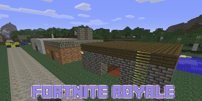 map fortnite minecraft