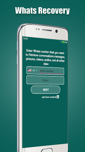 WA-Recovery: Deleted Whats Messages screenshot 5