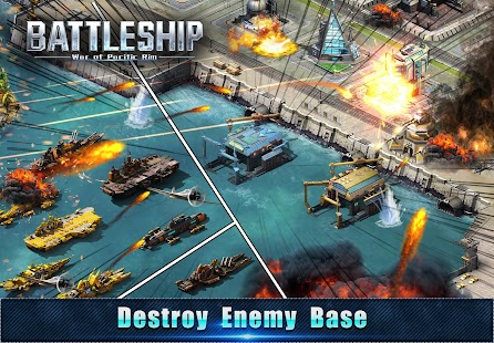 Battleship: Legion War of Pacific Rim - náhled
