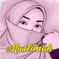 Teen Muslimah Cartoon HD