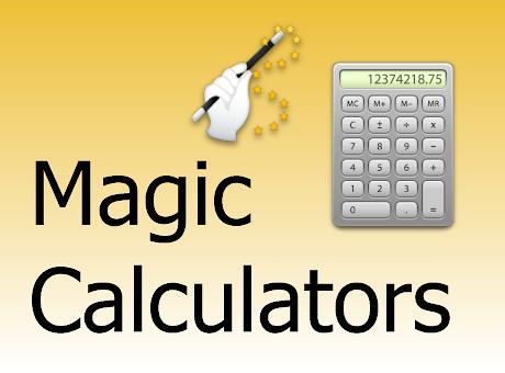 Magic Calculators