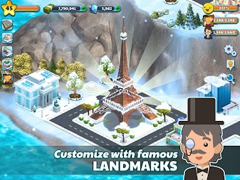 Snow Town - Ice Village World Winter Age APK screenshot thumbnail 13