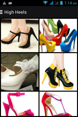 Latest Ladies Shoes Designs 2018 screenshot
