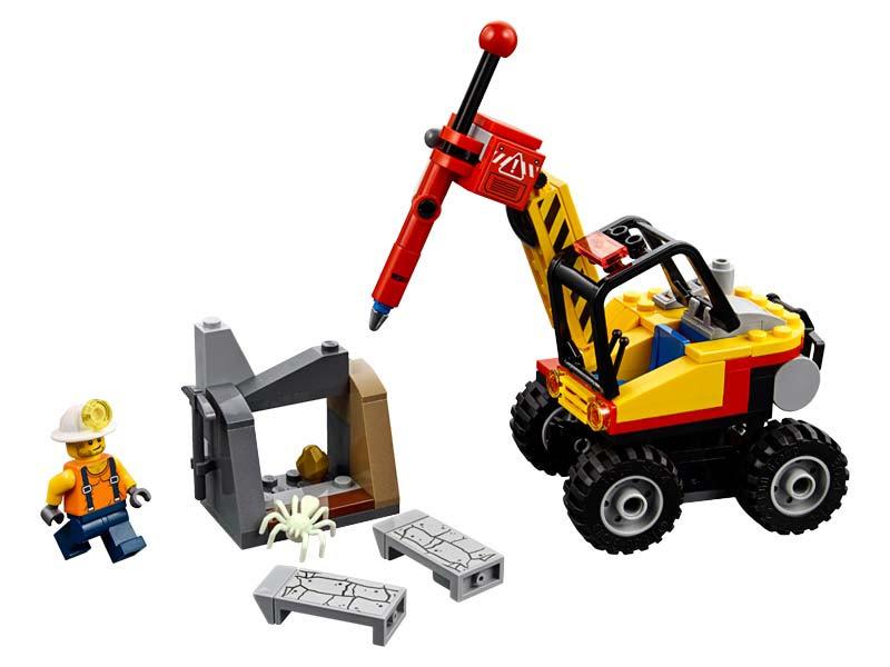 Contenido de Lego® 60185 Mina: Martillo Hidráulico