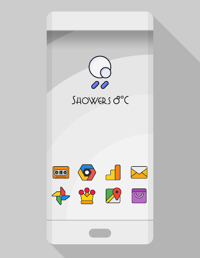 DARKMATTER - ICON PACK app for Android screenshot