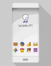 Aplikasi DARKMATTER - ICON PACK untuk Android screenshot