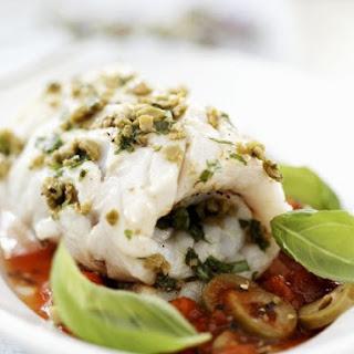 Mediterranean White Fish Roll.