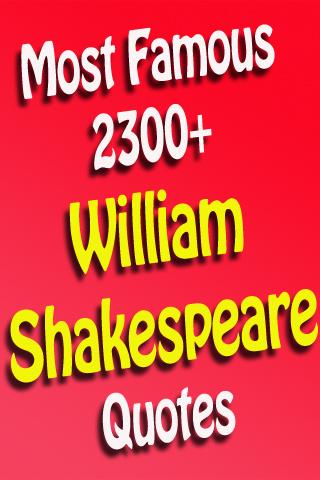 Top William Shakespeare Quotes