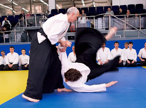 Photo: Aikido (without weapons) - Taras Olenych (Lvov)
