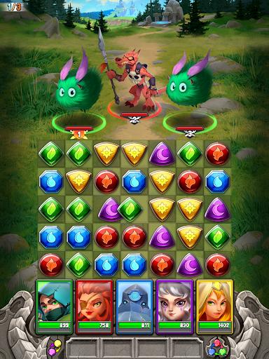 Dragon Strike: Puzzle RPG apktram screenshots 12