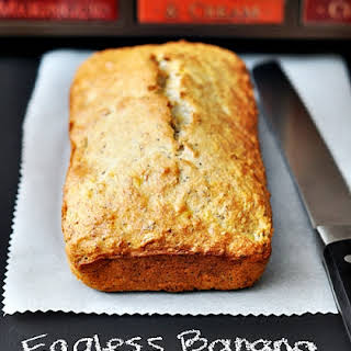 Eggless Coconut, Walnut & Banana Bread (with Chia Seeds).