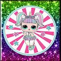 Best Cute Lol Dolls Amoled 3D Wallpaper icon