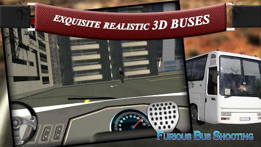 Furious Bus Shooting Rivals 3D
