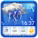 Weather forecast app for Android phone icon