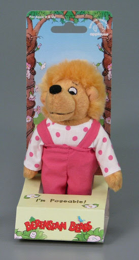 Stuffed animal:I'm Poseable | Sister Bear | The Berenstain Bears