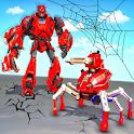 Spider Robot Car Transform Action Games icon