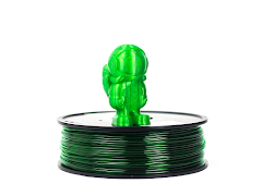 Translucent Green MH Build Series PETG Filament - 3.00mm (1kg)