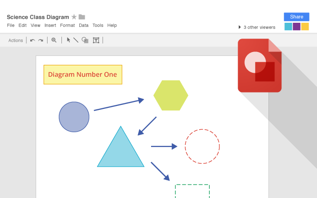 Google drawings chrome web store create shapes and diagrams ccuart