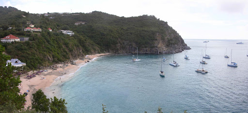 shell-beach-st-barts.jpg - Panorama of Shell Beach on St. Barts in the Caribbean.