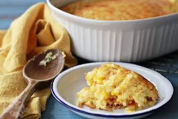 """Sweet Corn Spoonbread and a Great Big """"Thanks!"""" - Southern Bite"""