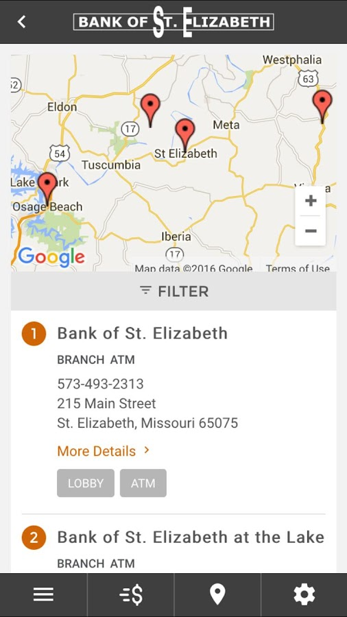 Bank of St. Elizabeth- screenshot