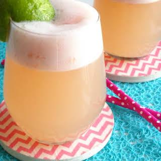 Grapefruit Coconut Margaritas.