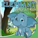 Elephant games free for kids icon