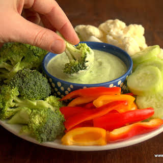 Creamy Chive Dip.