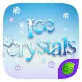 Ice Crystals GO Keyboard Theme